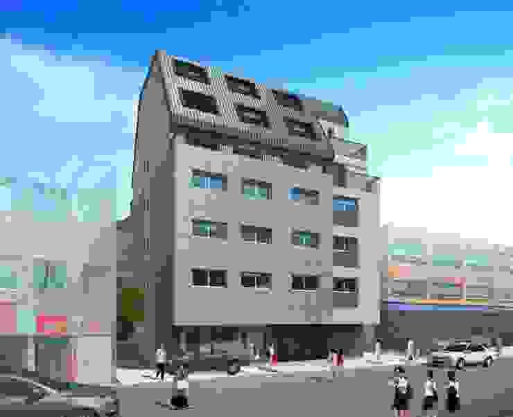 길동 도시형 생활주택 by 위 종합건축사사무소