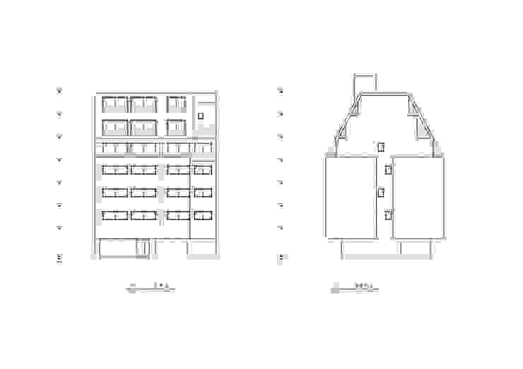 정면도, 좌측면도 by 위 종합건축사사무소
