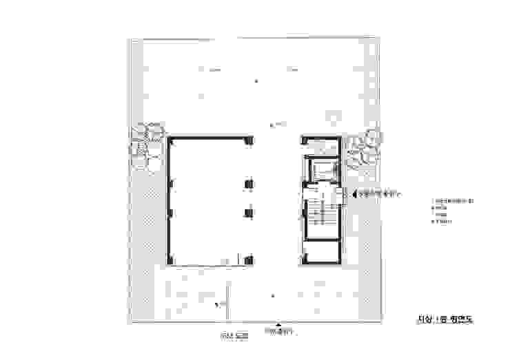 1층 평면도 by 위 종합건축사사무소