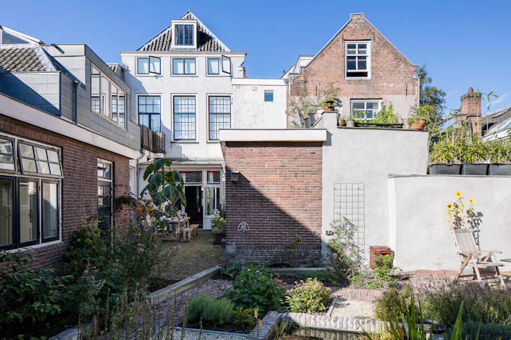 Herbestemming monument Moderne huizen van Richèl Lubbers Architecten Modern
