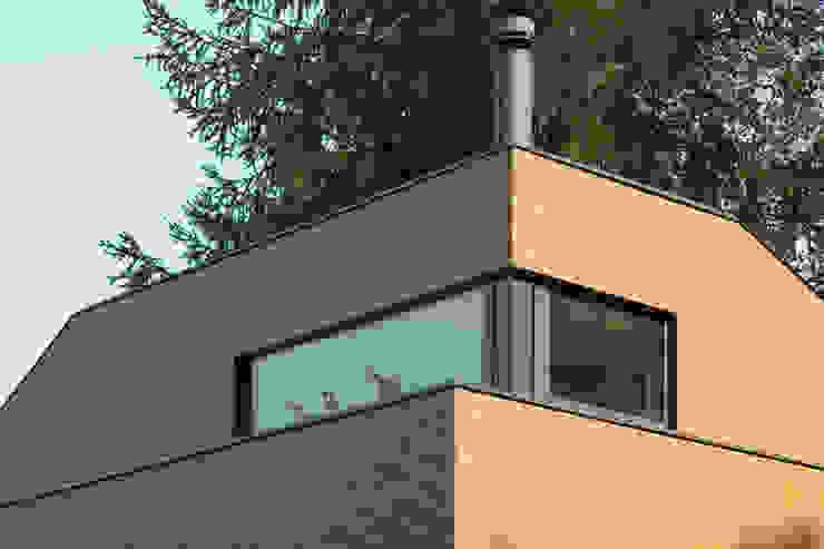 Tuinhuis atelier Moderne huizen van Richèl Lubbers Architecten Modern