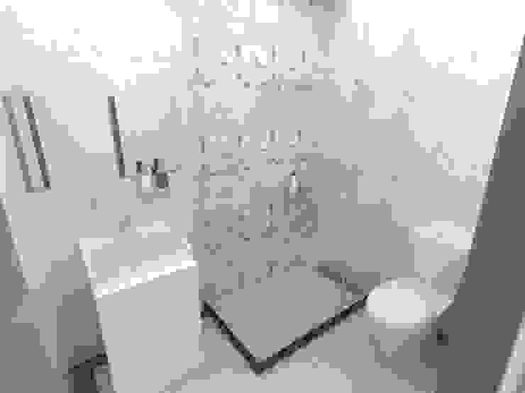 浴室Render2: 極簡主義  by 並聯建築科技有限公司, 簡約風