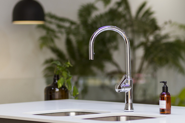 Adrede Diseño Modern Kitchen Granite White