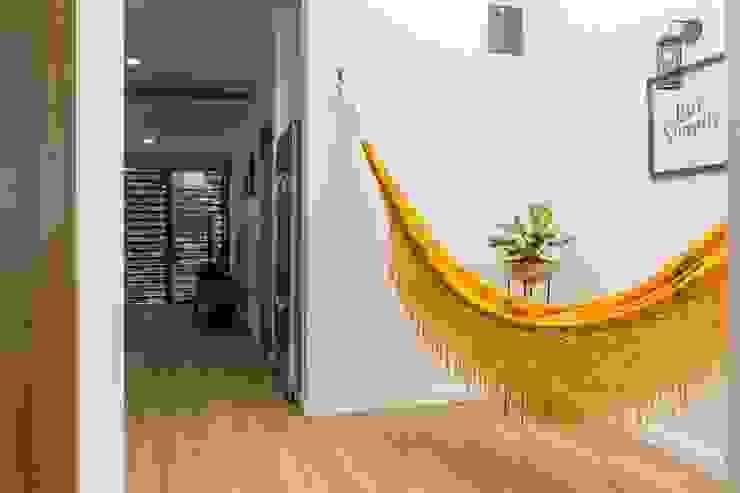 Adrede Diseño Balconies, verandas & terraces Furniture Cotton Yellow
