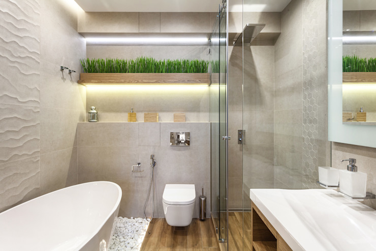 Перфекционизм Ванная комната в стиле минимализм от Planka Минимализм