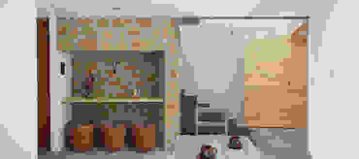 Industrial style dining room by Apaloosa Estudio de Arquitectura y Diseño Industrial