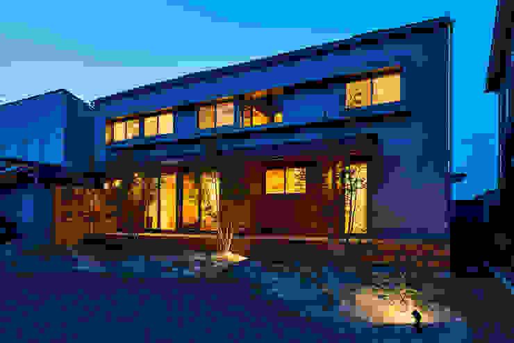 Projekty,  Domy zaprojektowane przez 梶浦博昭環境建築設計事務所