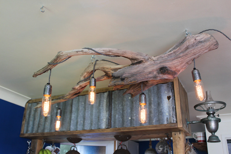 Driftwood Chandeliers by Julia's Driftwood