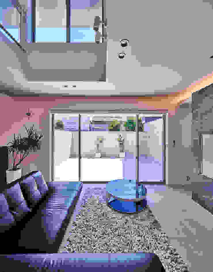 梶浦博昭環境建築設計事務所 Ruang Keluarga Modern