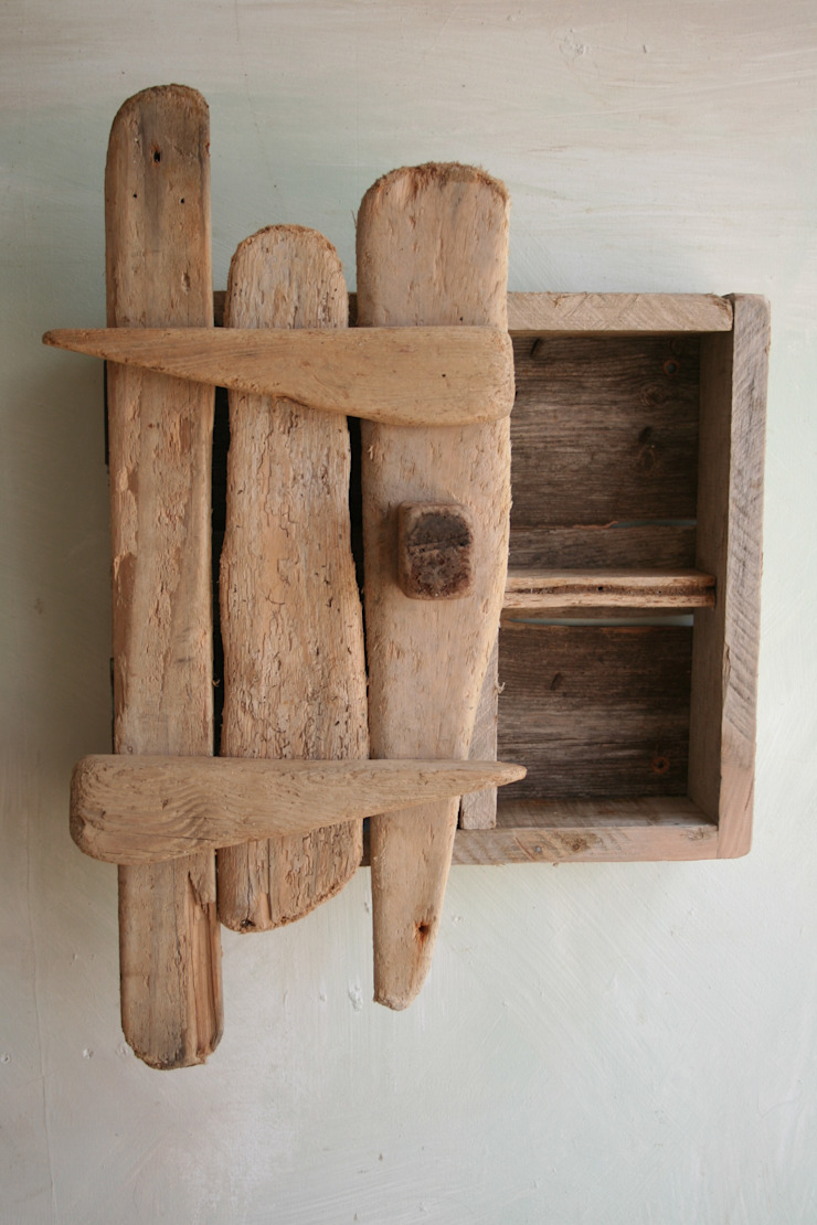 Driftwood Wall Mounted Cabinets & Cupboards by Julia's Driftwood
