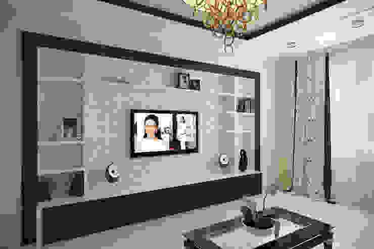 Гостиная <q>Riviera</q> Гостиная в классическом стиле от Татьяна Третьякова - дизайнер интерьера Классический