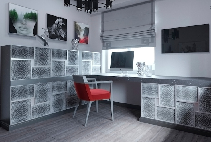 Bureau classique par Татьяна Третьякова - дизайнер интерьера Classique