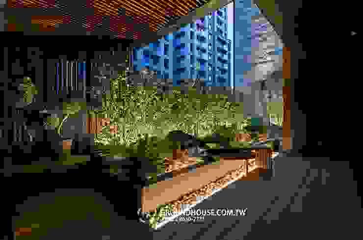 後院 根據 大地工房景觀公司 日式風、東方風