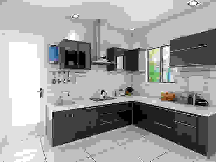 Kitchen by unlimteddesigns/bansal designs Modern