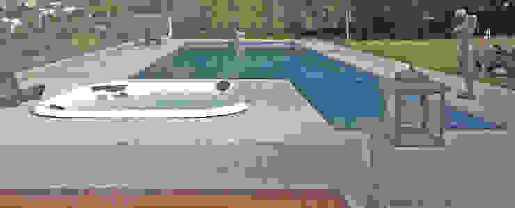 od Raul Hilgert Arquitetura de Exteriores Minimalistyczny Granit