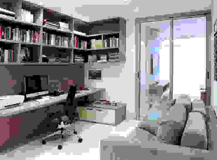 Study/office by Adriana Scartaris: Design e Interiores em São Paulo, Modern