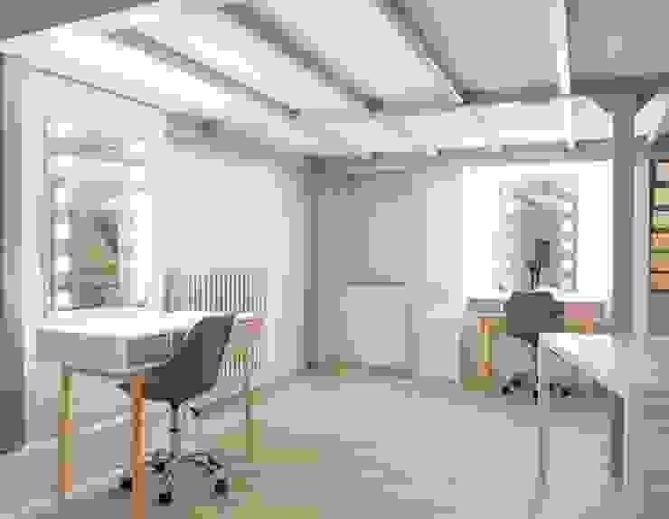 Projekty,  Przestrzenie biurowe i magazynowe zaprojektowane przez Unica by Cantoni,