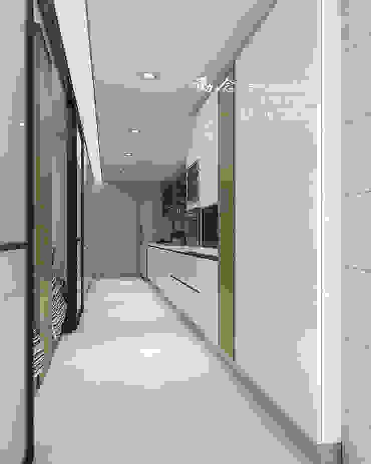 廚房/歐式系統家具/人文休閒 根據 木博士團隊/動念室內設計制作 現代風 玻璃