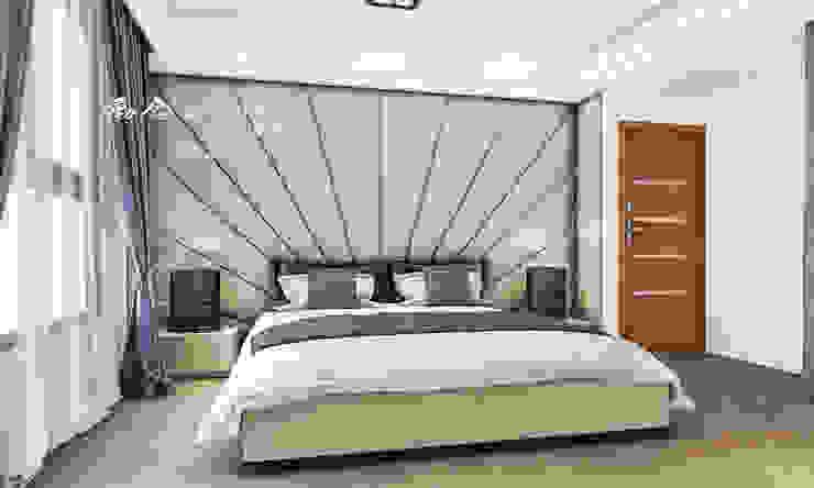 主臥室/臥室/人文休閒 根據 木博士團隊/動念室內設計制作 現代風 大理石
