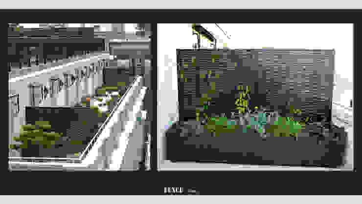 Fence Paris Balkon, Veranda & TerasMobilyalar