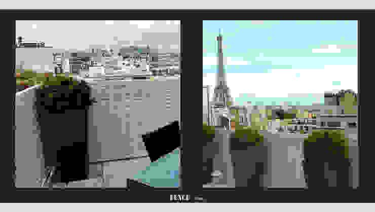 Fence Paris Balcones, porches y terrazasAccesorios y decoración