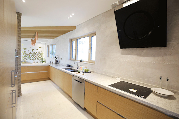 Built-in kitchens by 더존하우징
