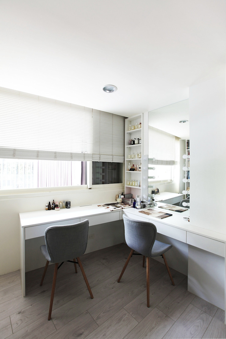 築一國際室內裝修有限公司 Modern style dressing rooms