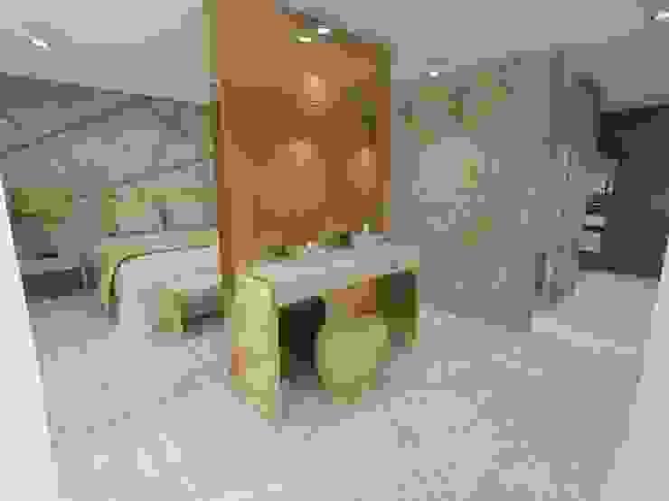 Projeto de Moradia de Luxo em Fão Quartos modernos por Atelier Kátia Koelho Moderno