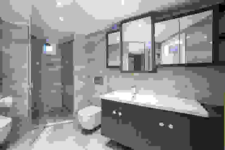 MA Evi. Tasarım ve Uygulama Projesi Sonraki Mimarlık 2018. MA House designed and applied by Sonraki Architecture Modern Banyo Sonraki Mimarlık Mühendislik İnş. San. ve Tic. Ltd. Şti. Modern