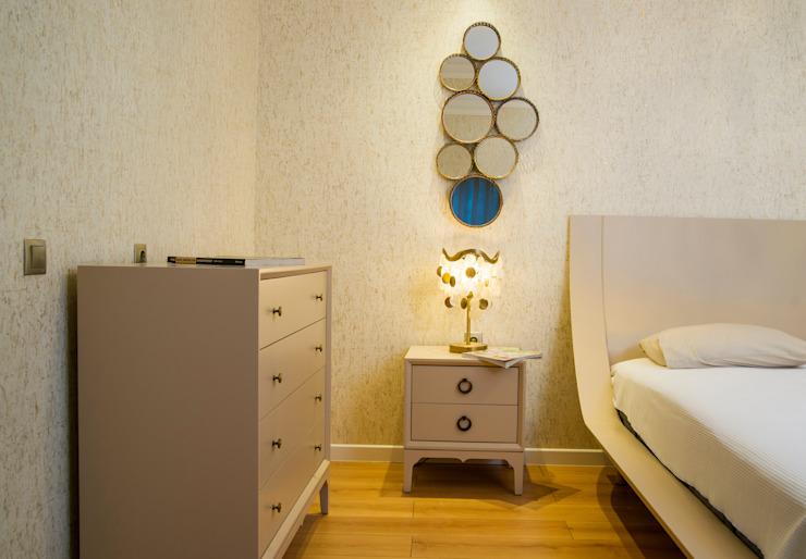 Moderne slaapkamers van Sonraki Mimarlık Mühendislik İnş. San. ve Tic. Ltd. Şti. Modern