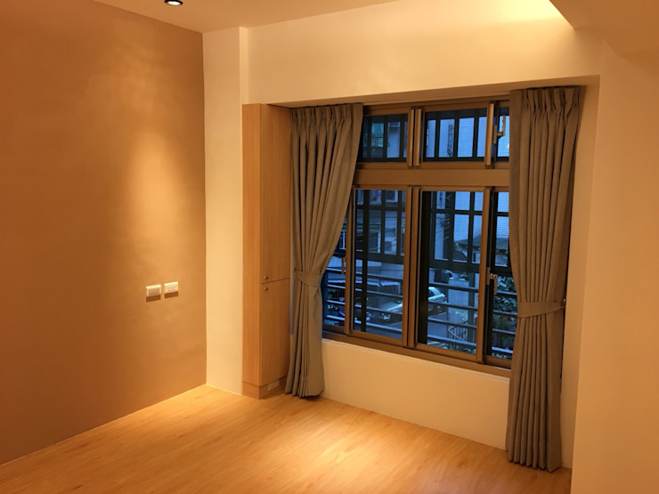 裝潢免百萬 利用現有格局及顏色的搭配 打造完美的家 捷士空間設計(省錢裝潢) 臥室