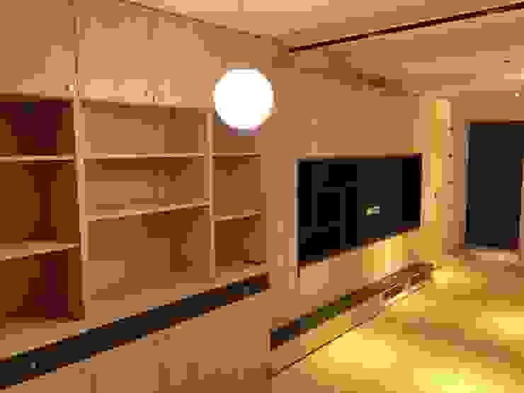 裝潢免百萬 利用現有格局及顏色的搭配 打造完美的家 捷士空間設計(省錢裝潢) 客廳