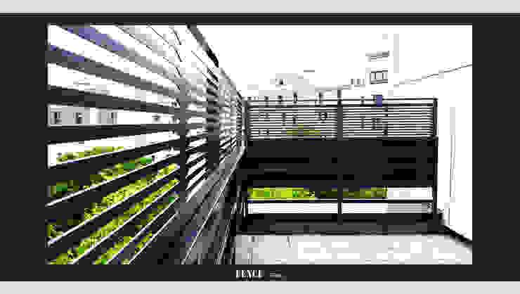 modern  door Fence Paris, Modern