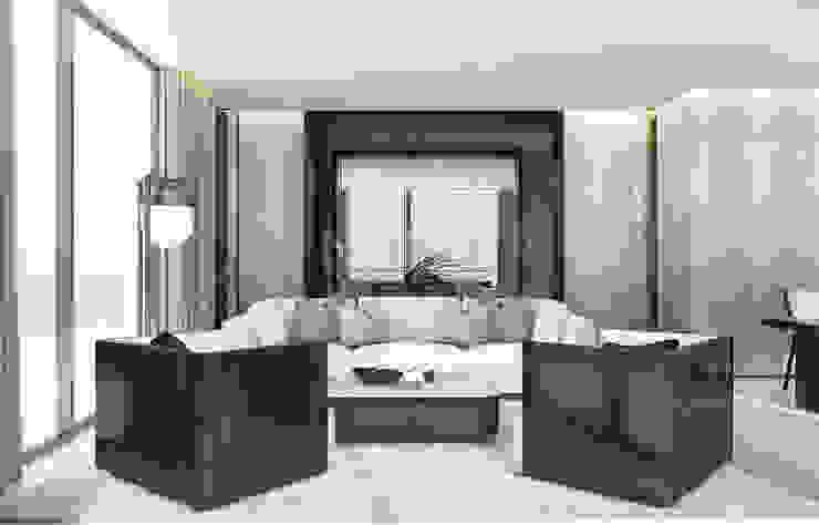 Modern living room by Anton Neumark Modern