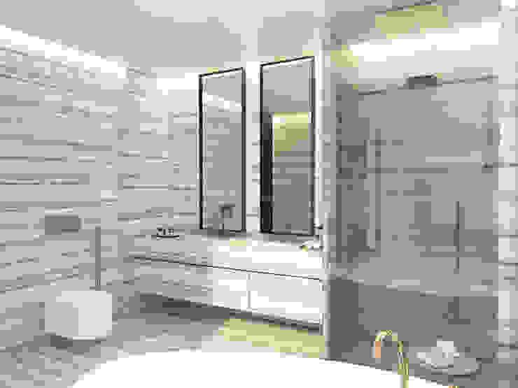 Modern bathroom by Anton Neumark Modern