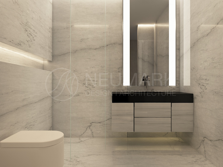 Modern bathroom by Anton Neumark Modern
