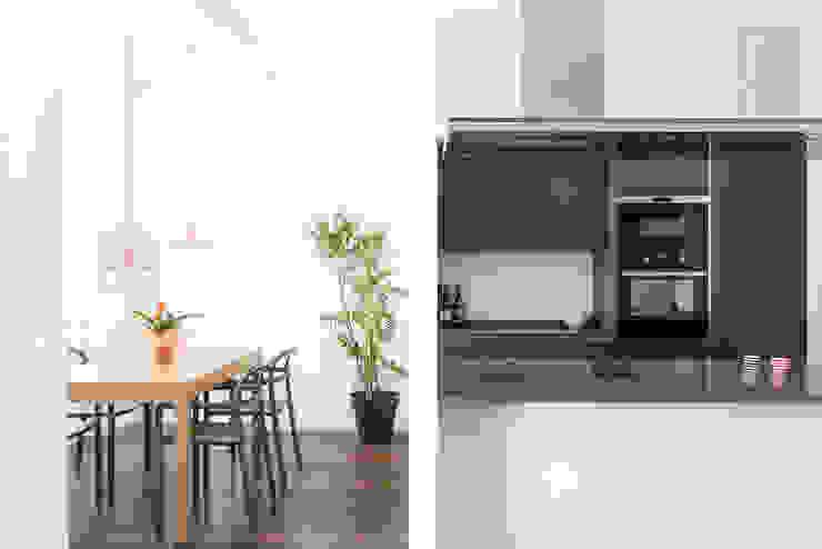 Cucina sala da pranzo Cucina moderna di Grippo + Murzi Architetti Moderno