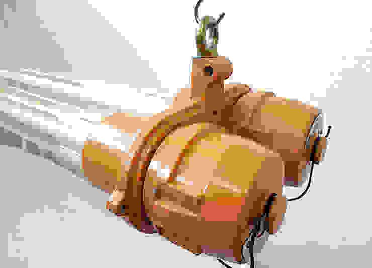 Lux-Est Commercial Spaces Aluminium/Zinc Orange