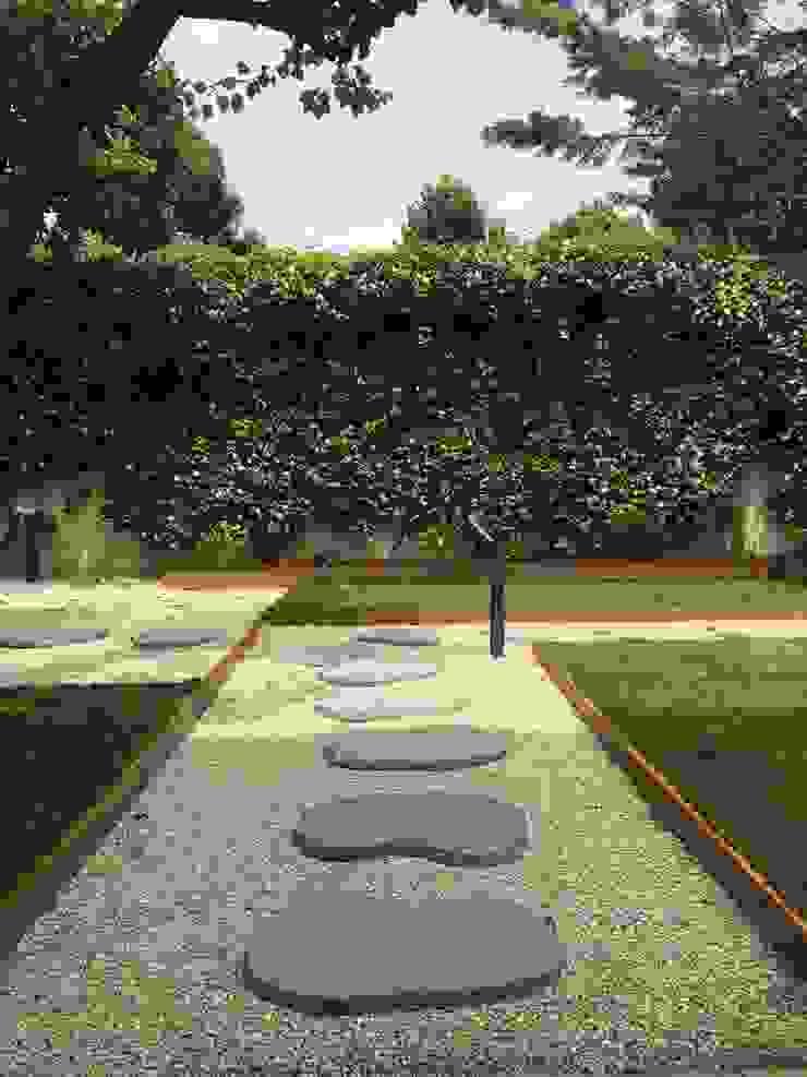 Il camminamento Giardino moderno di AbitoVerde Moderno
