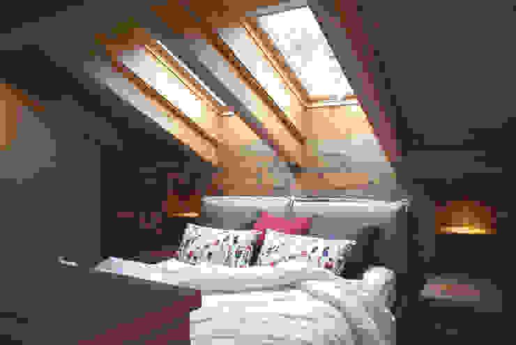 Modern Bedroom by GRITTI ROLLO   Stefano Gritti e Sofia Rollo Modern Solid Wood Multicolored