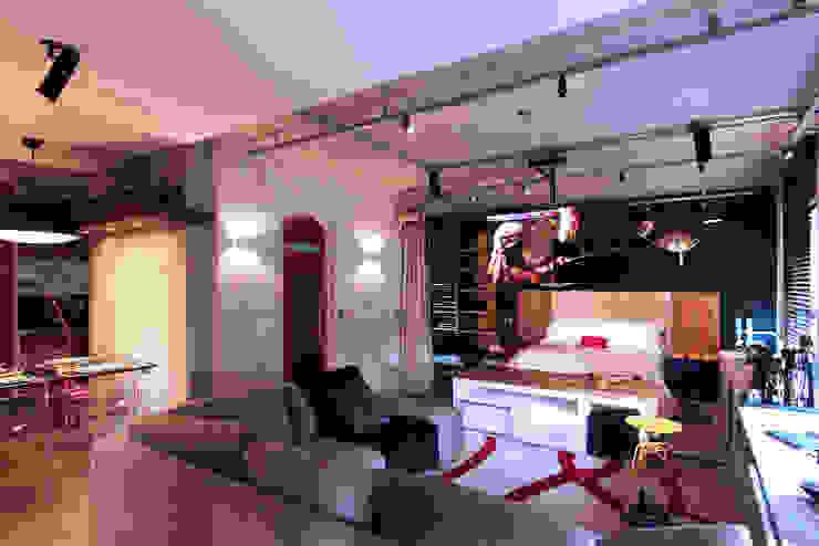 by INSIDE ARQUITETURA E DESIGN Industrial Concrete
