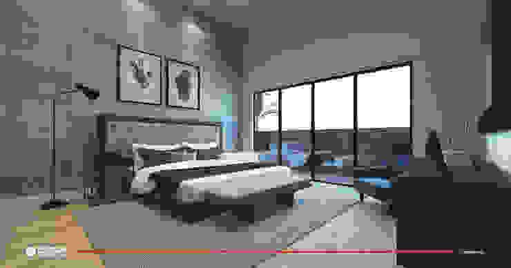 Bedroom by CODIAN CONSTRUCTORA, Minimalist