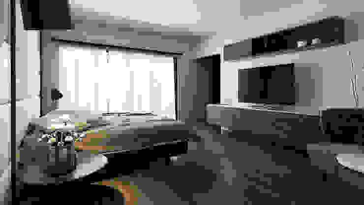 Proyecto Morán Dormitorios minimalistas de CODIAN CONSTRUCTORA Minimalista