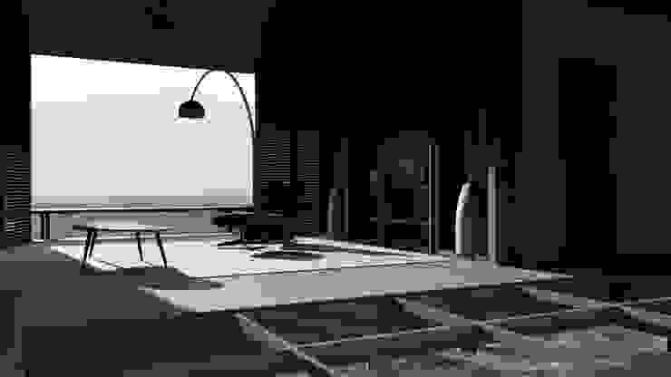 House Study 02 Ruang Studi/Kantor Tropis Oleh alexander and philips Tropis Kayu Wood effect