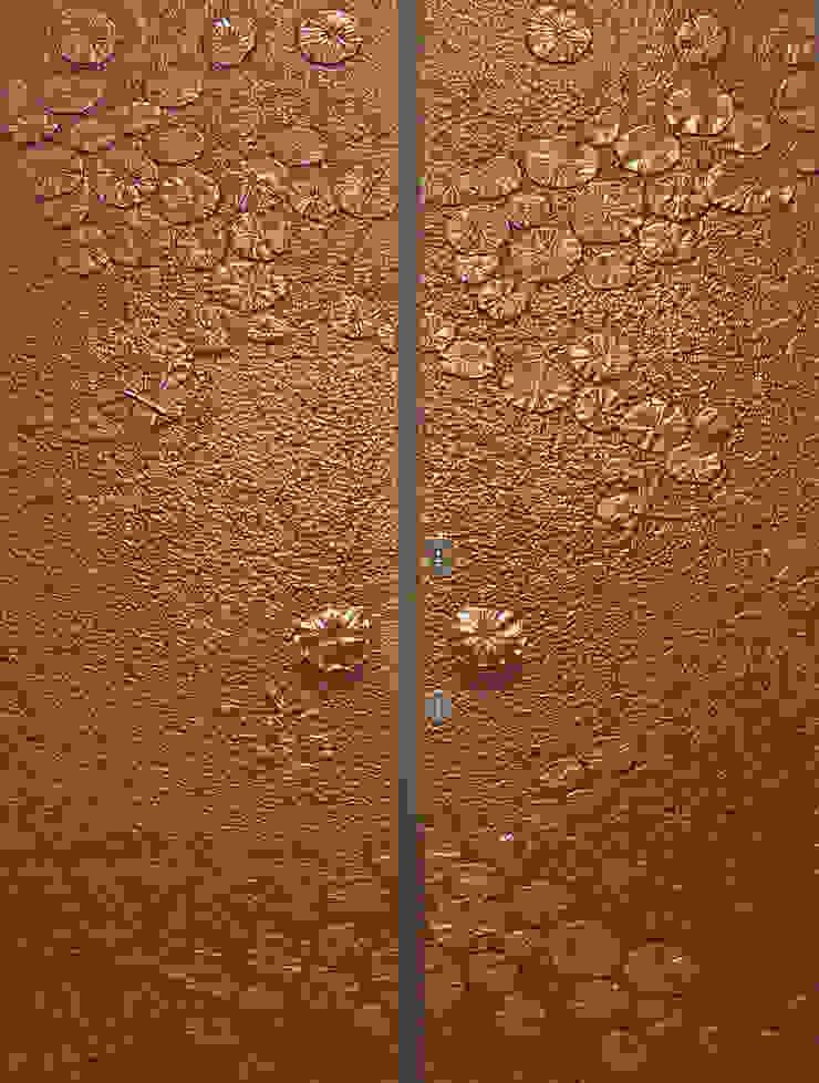 芙蕖畔: 亞洲  by 豐彩藝術股份有限公司, 日式風、東方風 銅/青銅/黃銅
