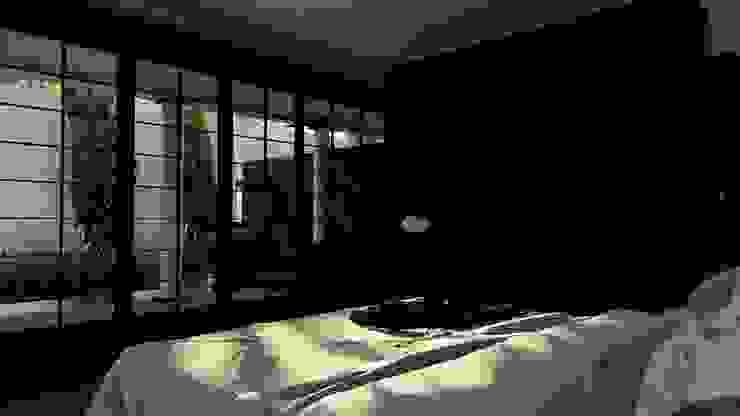Master Bedroom alexander and philips Kamar Tidur Klasik Marmer Black