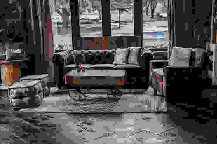 Armonía perfecta. Muebles Marieta Salones de estilo rural Madera Marrón