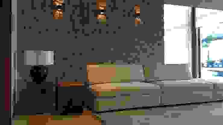 ArboREAL - Mesa lateral em madeira maciça por ArboREAL Móveis de Madeira Rústico Madeira maciça Multi colorido