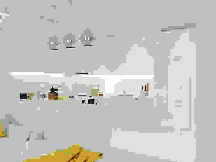 Nhà bếp phong cách kinh điển bởi Design studio TZinterior group Kinh điển