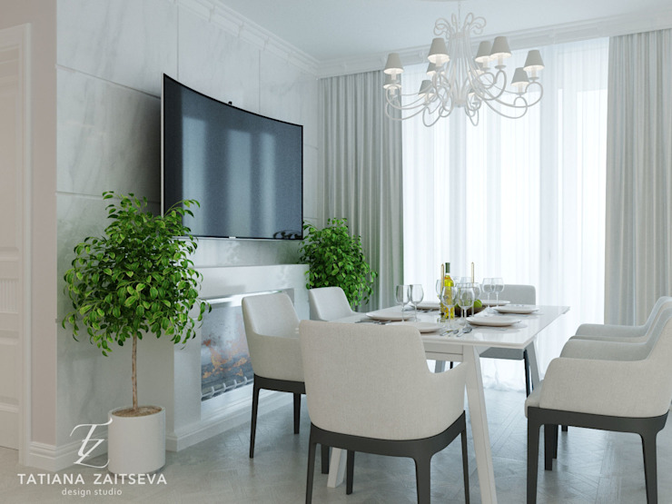 Classic style media room by Design studio TZinterior group Classic